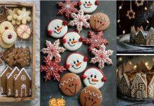 μπισκότα Χριστουγεννιατικα στολισμός