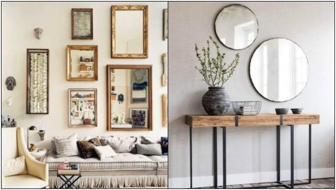 5 Ιδέες για να διακοσμήσεις ένα δωμάτιο με καθρέπτες!