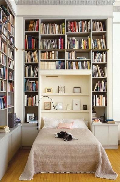 διακόσμηση μικρό υπνοδωμάτιο