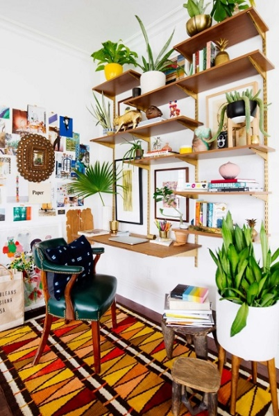 ιδέες diy γραφείο σπίτι