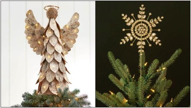 6 Ξεχωριστές κορυφές για το χριστουγεννιάτικο δέντρο σου