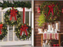 πώς να διακοσμήσεις το μπαλκόνι φέτος τα Χριστούγεννα