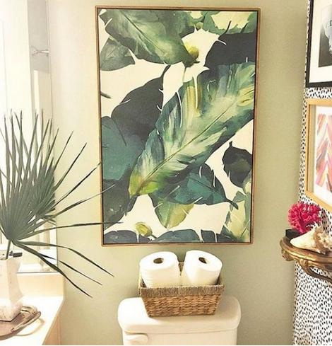 Πίνακας για τουαλέτα