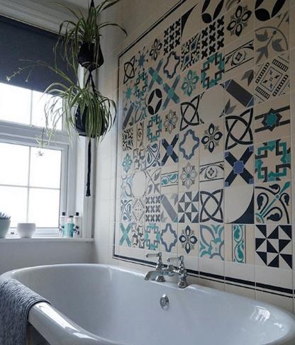 Πλακάκια για τοίχο του μπάνιου