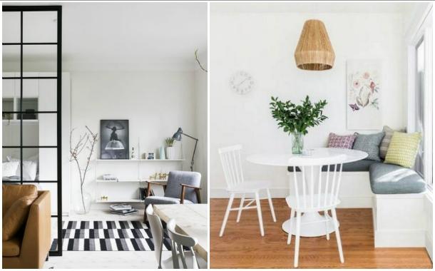 συμβουλές διακόσμησης μικρό διαμέρισμα