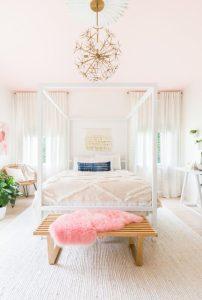 υπνοδωμάτιο φωτιστικό με λουλούδια