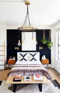 υπνοδωμάτιο φωτιστικό με λάμπες