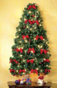 χριστουγεννιάτικη διακόσμηση τοίχου δέντρο