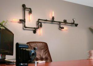 industrial φωτιστικού τοίχου