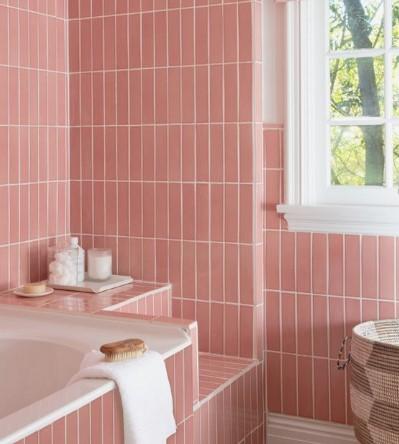 Ροζ μπάνιο
