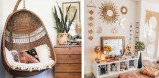 ιδεες για boho διακοσμηση σπιτιου