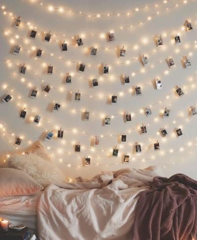 Φωτάκια στον τοίχο