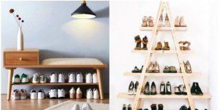 ιδέες αποθήκευσης παπούτσια