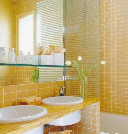 κίτρινο μπάνιο