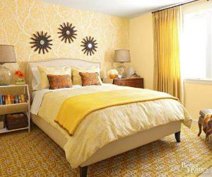 λάθη στη διακόσμηση κίτρινο υπνοδωμάτιο