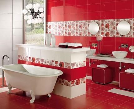 Κόκκινο μπάνιο
