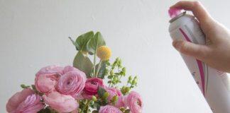 λακ σε ανθοδέσμη ροζ λουλούδια