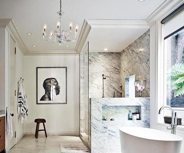 μινιμαλιστικό σπίτι μπάνιο