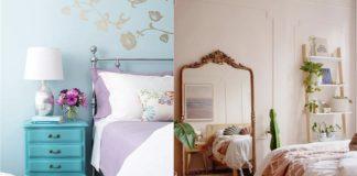 vintage διακοσμηση υπνοδωματιου