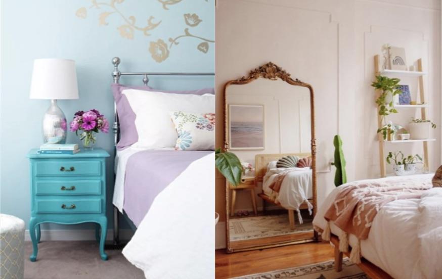5 Tips για να διακοσμήσεις ένα vintage υπνοδωμάτιο! | exypnes-idees.gr