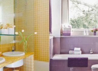 Χρωματιστό μπάνιο που θα σε κάνει χαρούμενη