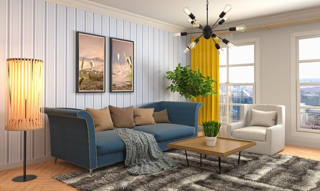Συμβουλές για την διαρρύθμιση στο σαλόνι, η απόσταση των καναπέδων μεταξύ τους, από το τοίχο