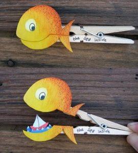 μανταλακια ψαρακια