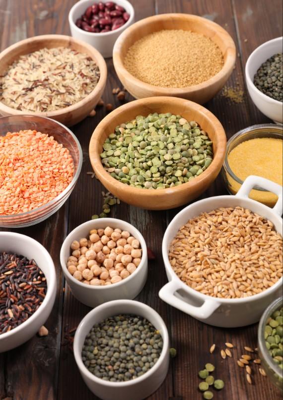 Πως να διατηρήσεις φρέσκους τους κόκκους οσπρίων, ρυζιού ξηρών καρπών