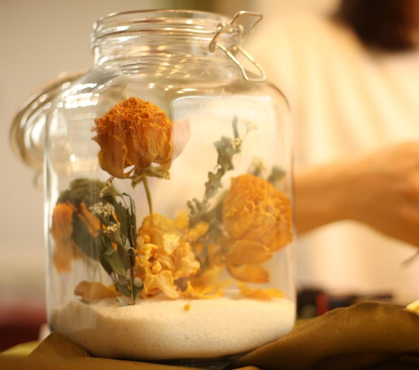 Aποξηραμένα λουλούδια για φυσικές μυρωδιές στο σπίτι