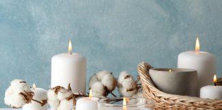 Χρησιμοποίησε φυσικά αρωματικά κεριά για καλή ενέργεια στο σπίτι