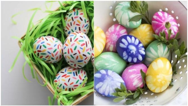 διακοσμήσεις πασχαλινά αυγά