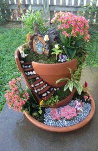 διακοσμητικά κήπου γλάστρες