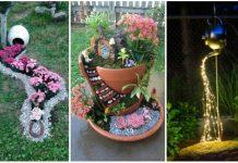 οικονομική διακόσμηση κήπου καλοκαίρι