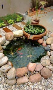 εύκολη λιμνούλα κήπου