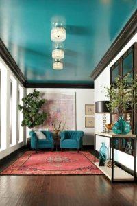 γαλάζιο ταβάνι