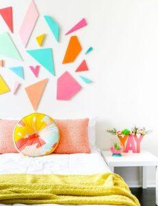 γεμάτο χρώμα δωμάτιο