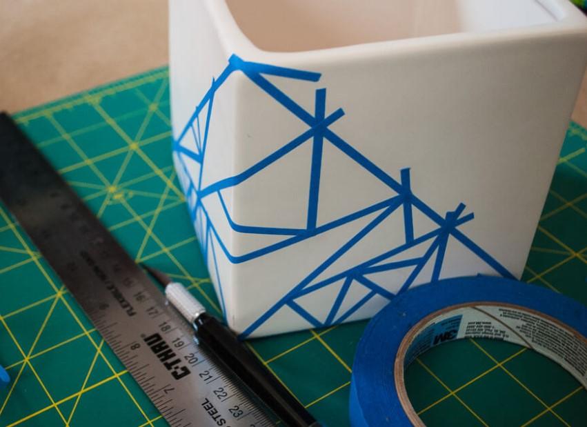 Πως να κάνεις γεωμετρικά σχήματα στη γλάστρα