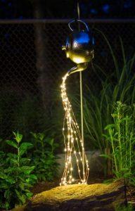 κρεμαστό φωτιστικό κήπου