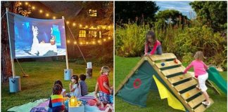 κατασκευες κήπου για παιδιά