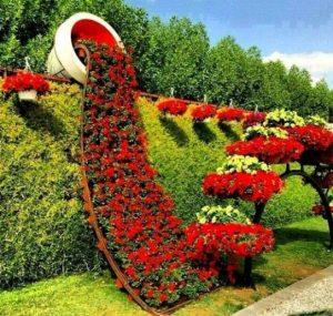 διακόσμηση κήπου με πιθάρια