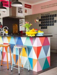 κουζίνα με χρώματα