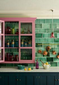 κουζίνα χρωματιστή