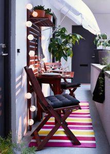 όμορφες ιδέες για το μπαλκόνι