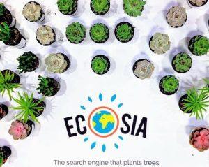 μηχανή αναζήτησης ecosia