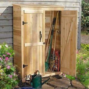 ντουλάπα εργαλεία κήπου