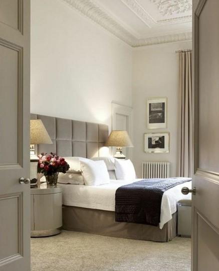 όμορφη διακόσμηση στο υπνοδωμάτιο