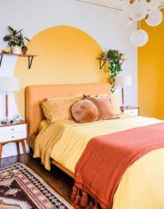 όμορφο δωμάτιο με χρώματα