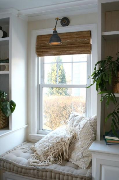 παράθυρο άνετες μαξιλάρες