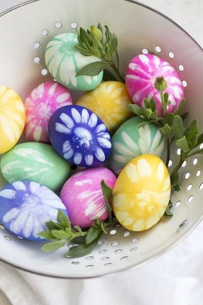αυγά σχέδια λουλούδι
