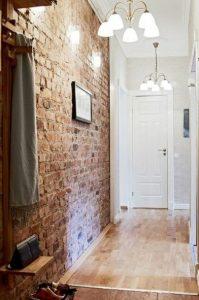 πέτρινος τοίχος χολ